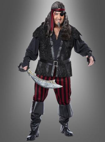 Plus Size Captain Klaas Costume