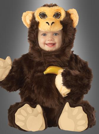 Deluxe Chimpanzee Costume Infant