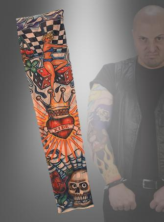 Tattoo Armstulpen RIDE