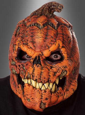 Halloween Maske beweglicher Kürbiskopf