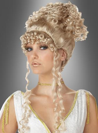 Anthenian Goddess updo wig blonde