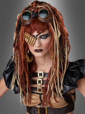 Steampunk Dreadlocks Perücke