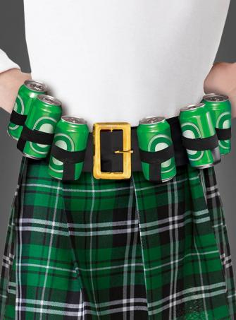 Drinking Belt for Cans
