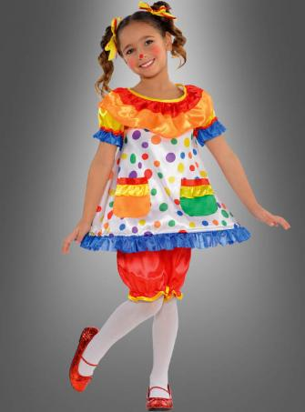 Clown Kleid für Mädchen