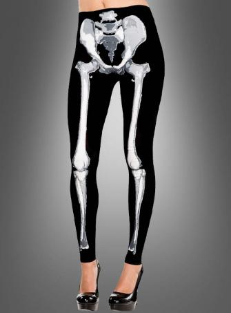 Footless Bone Tights