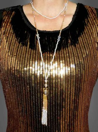 Edle Halskette mit Tassel