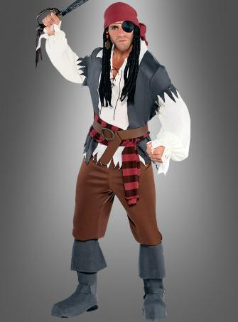 Pirate Captain Castaway Costume