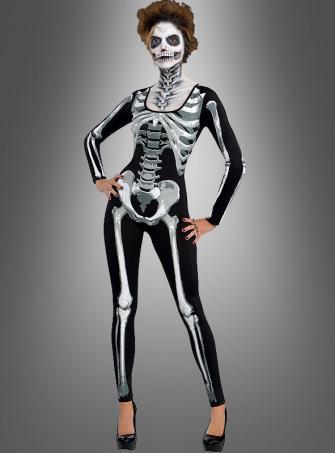Skelettoverall Damen