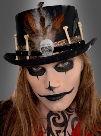 Voodoo Priest Top Hat