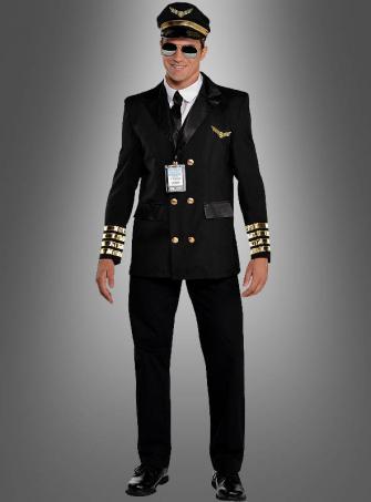 Piloten Uniform für Herren