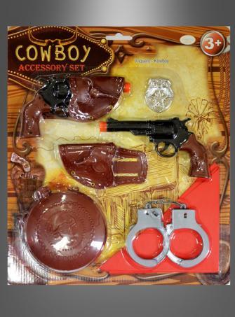 Großes Cowboy Waffenset Kinder