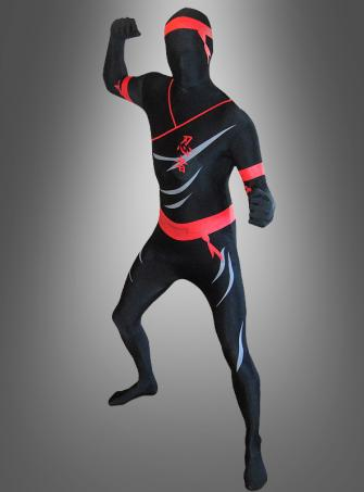 Morphsuit Ninja second Skin