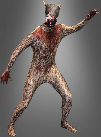Morphsuit Werewolf