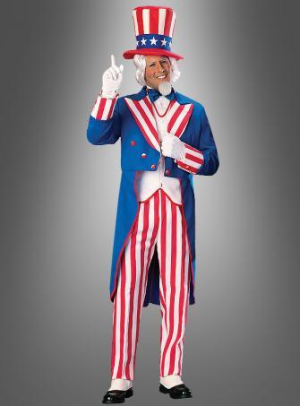 Uncle Sam Deluxe Kostüm