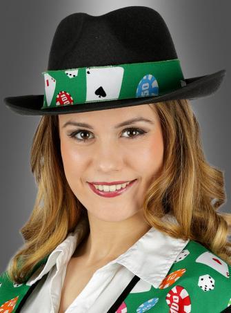 Casino Hatband for Gamblers