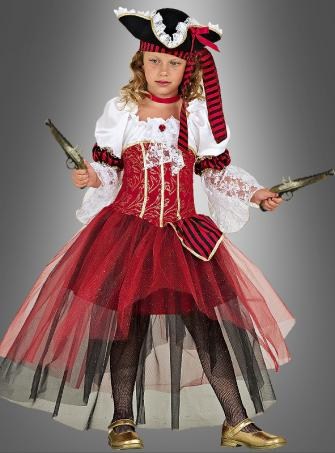 Pirate Princess Children Costume