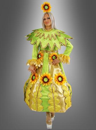 Sunflower Woman Costume