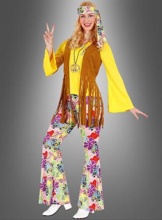 Hippie Look Bettina Damenkostüm