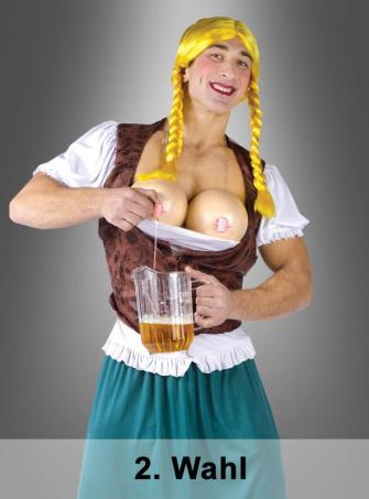 Miss Oktoberbrust Dirndl Männerkostüm 2. Wahl
