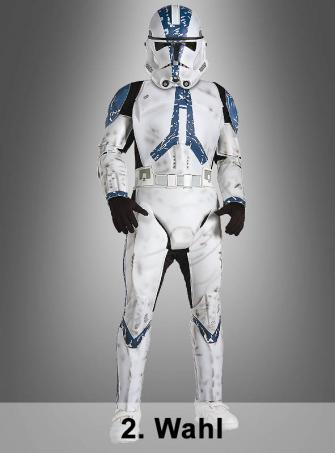 2. Rate Deluxe Child Clone Trooper STAR WARS costumes