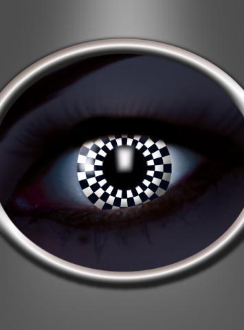 Motivlinsen UV Schachbrett