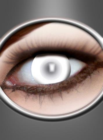 Zombie Kontaktlinsen blind weiss