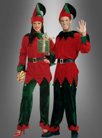 Santas Helfer Elfen Zwerge