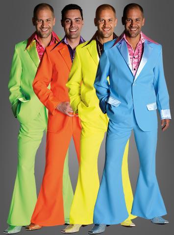 70er Jahre Anzug Discokostüm