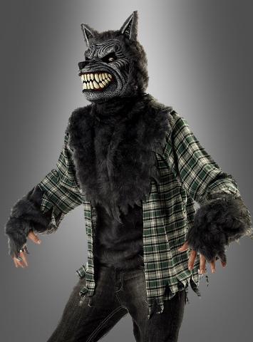 Werwolfkostüm mit Maske