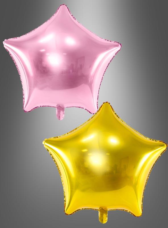 Folienballon Sternform 48 cm Partydeko