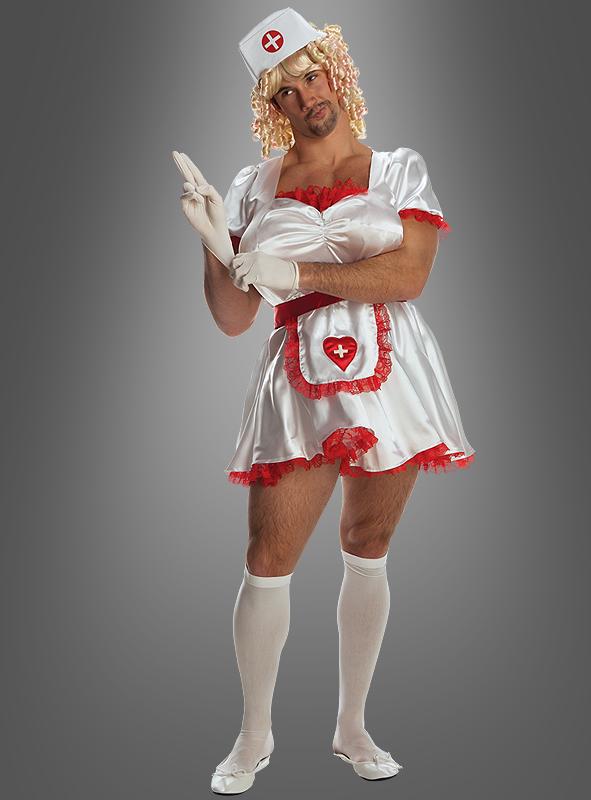 Krankenschwester Spaßkostüm Karneval Junggesellenabschi