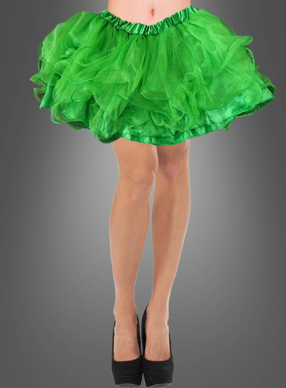 buy popular 8a7c2 b6c5c Tüllrock grün günstig online bestellen bei Kostümpalast