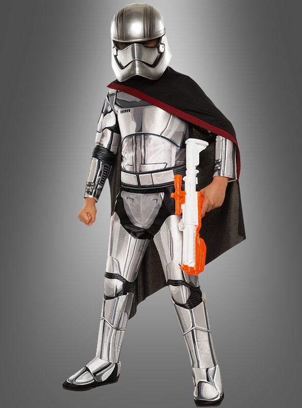 Star Wars The Force Awakens Super Deluxe Captain Phasma Child Costume,FREE SHIP!