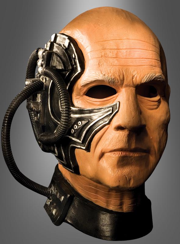 Picard Maske Star TREK Locutus