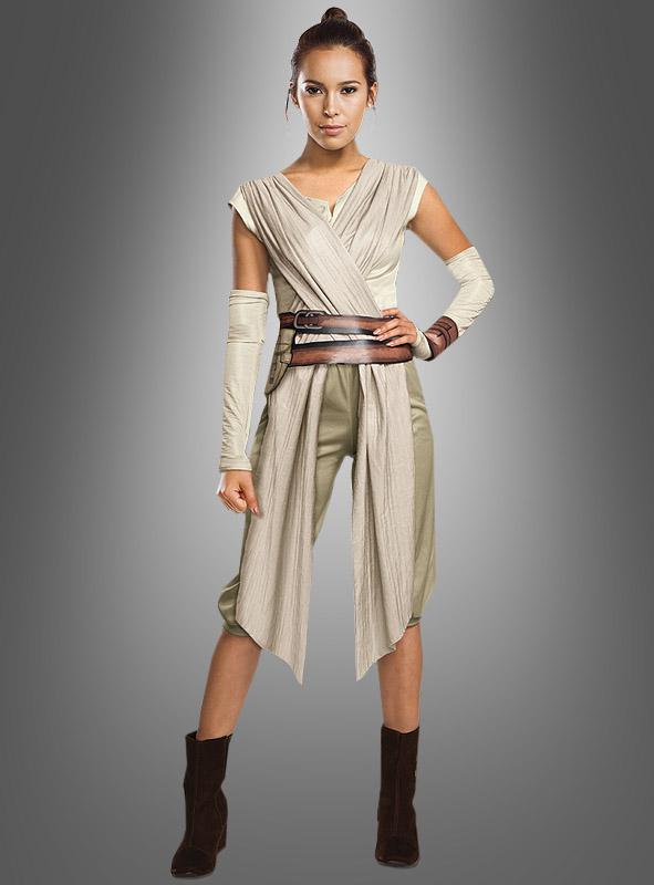 Star Wars Damen Kostüme Rey Bei Kostümpalastde