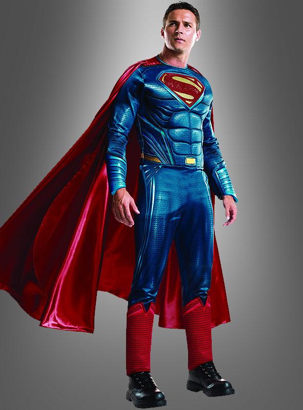 deluxe superman kost m bei kost. Black Bedroom Furniture Sets. Home Design Ideas