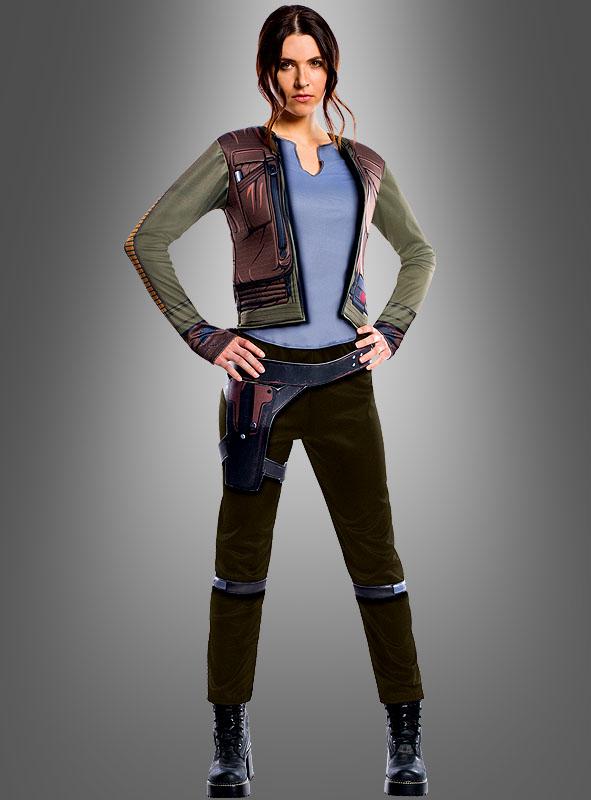 Star Wars Jyn Erso Damenkostüm Bei Kostümpalast