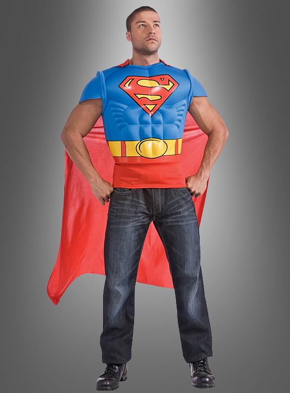 superman kost m muskelshirt bei kostuempalast. Black Bedroom Furniture Sets. Home Design Ideas