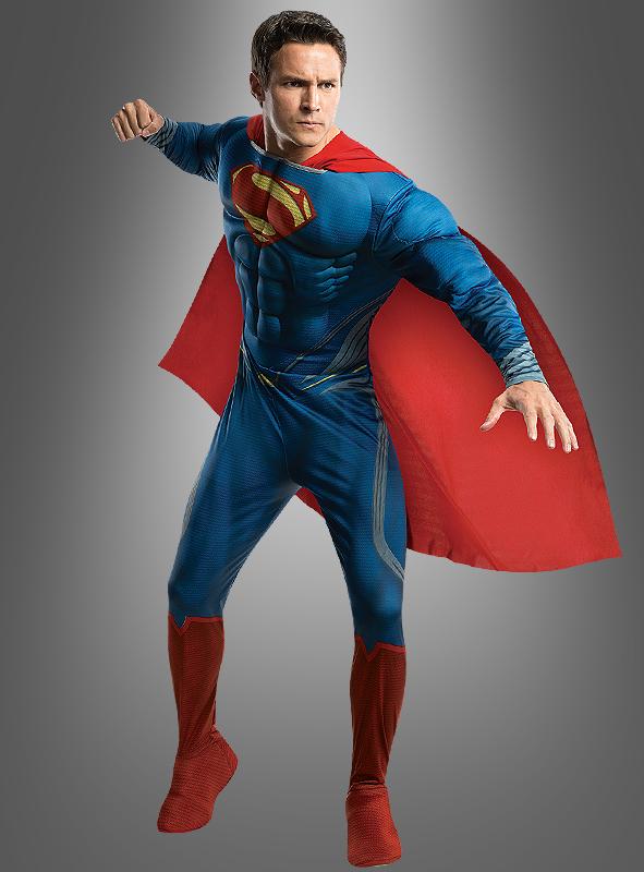 superman kost m man of steel superheld bei kost mpalast. Black Bedroom Furniture Sets. Home Design Ideas