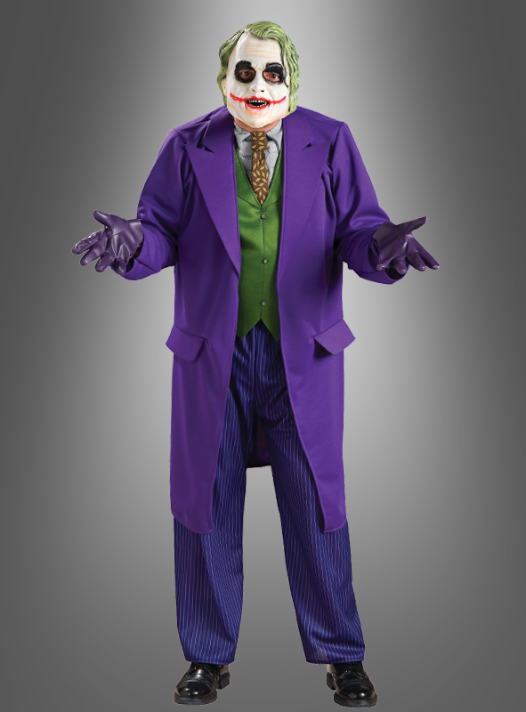 xxl joker batman kost m. Black Bedroom Furniture Sets. Home Design Ideas