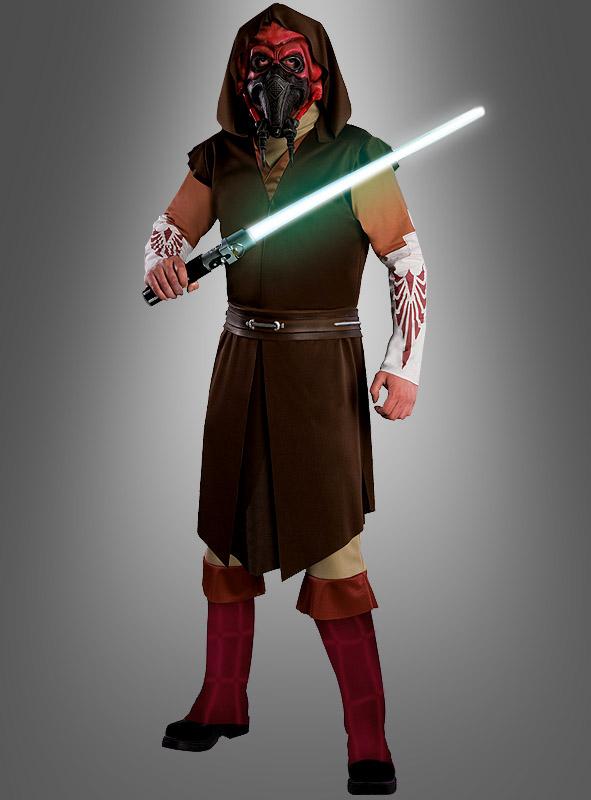 star wars plo koon deluxe kostum fur erwachsene