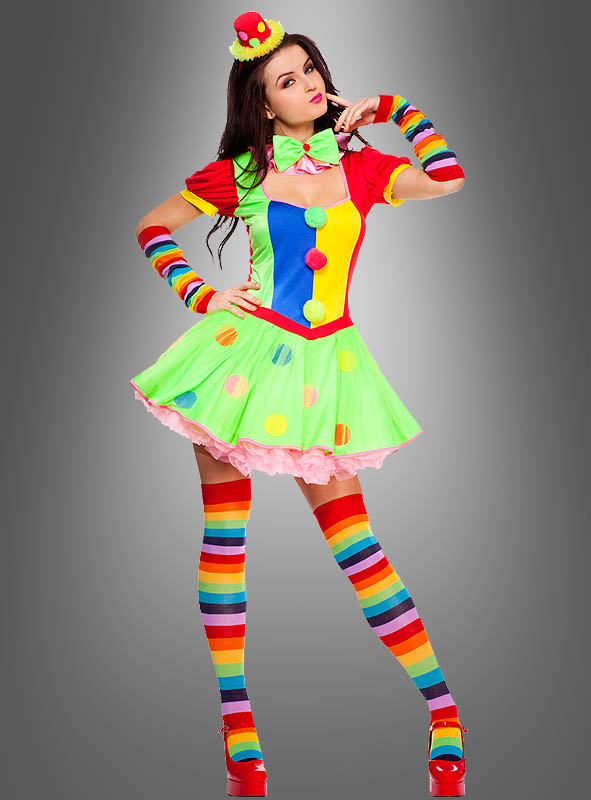 Sexy clown girl