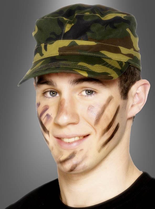 Army Cap Tarnmuster Mütze