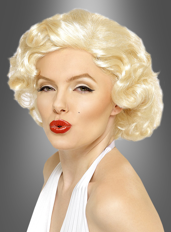 marilyn monroe bombshell wig moviestar blonde