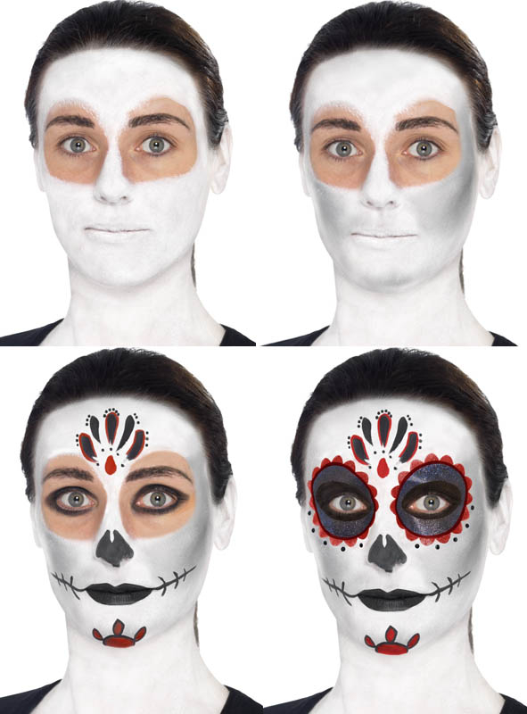 Day Of The Dead Makeup Kit At