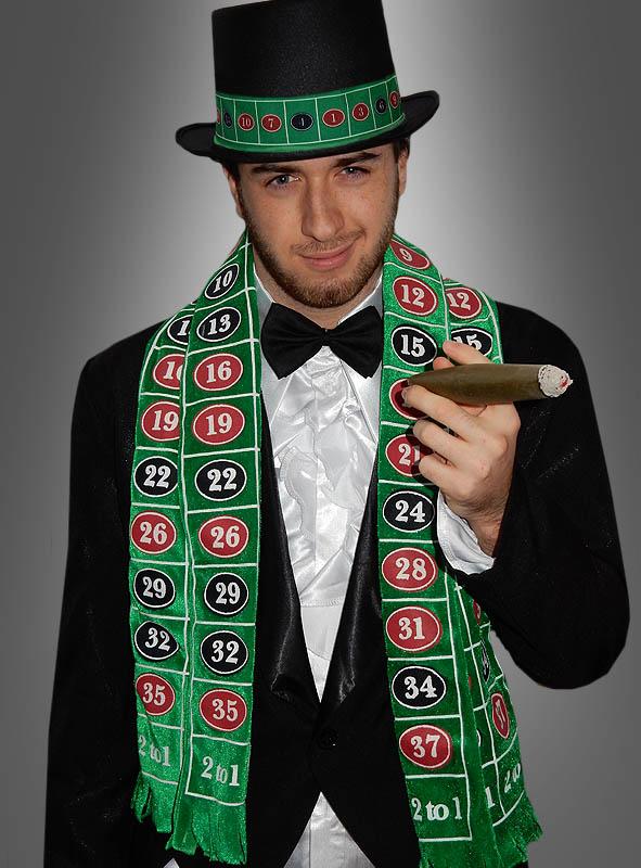 Casino Schal Deluxe zum Las Vegas Kostüm - Kostümpalast ccd9c3eb0f0f2