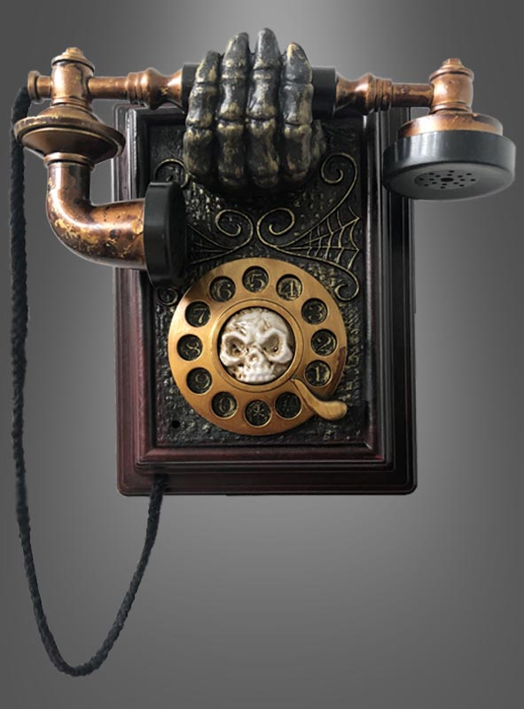 Telephone Halloween Decoration With Kostumpalast De