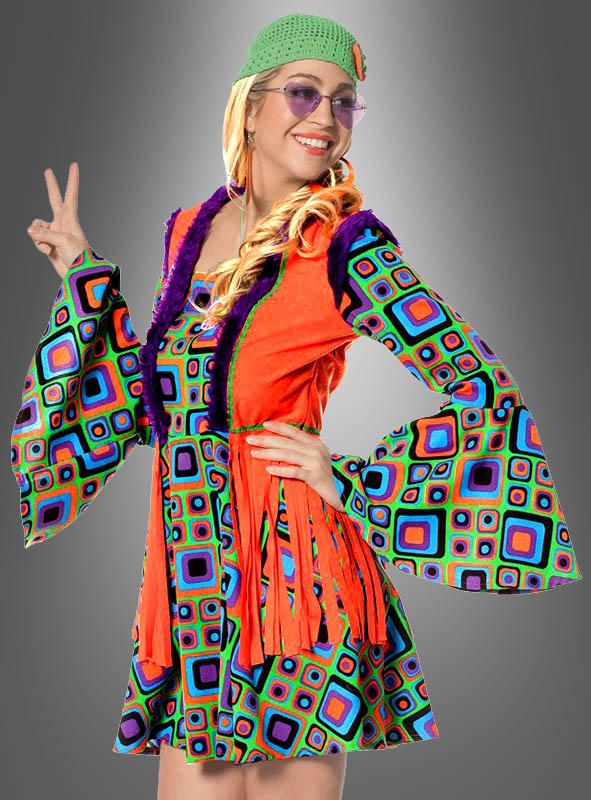 4e79492422b Hippie Dress with Fringe Vest » Kostümpalast.de