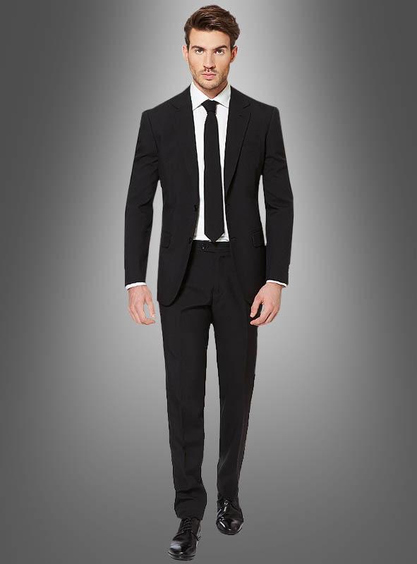 schwarzer opposuit anzug online kaufen bei kost mpalast. Black Bedroom Furniture Sets. Home Design Ideas