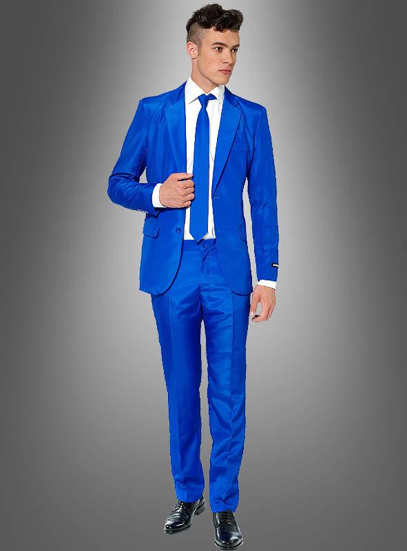 schön und charmant Beste modernes Design Blauer Anzug Suitmeister bei » Kostümpalast.de